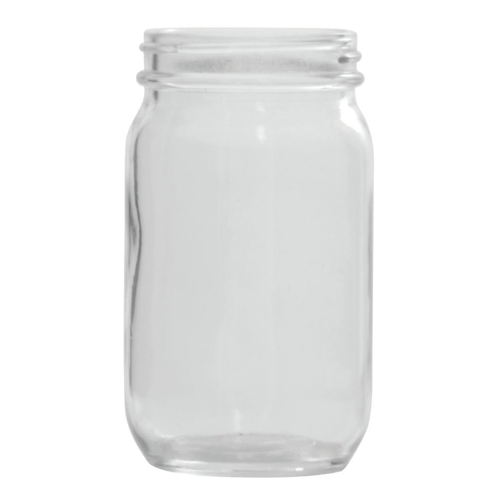 Libbey 92104 Libbey 92104 8 oz. Glass Drinking Jar