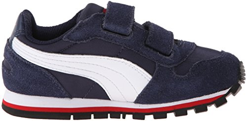 Puma St Runner NL V Jr Shoe Peacoat/White/High Risk Red