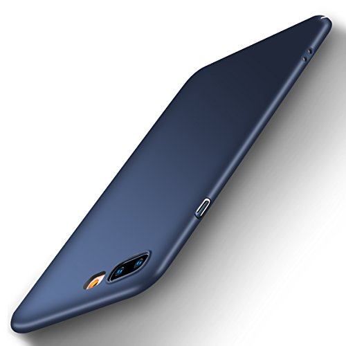 REALIKE iPhone 7 Plus case iPhone 8 Plus case Ultra Slim Fit Hard Plastic Cover Full Protective Anti-Scratch Non Slip iPhone Case Super Thin PC Matte Finishing DEEP Blue Color