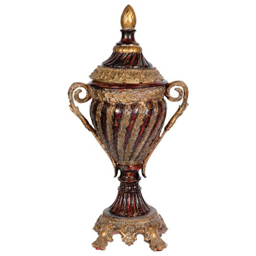 Timeless Reflections by AFD Home 10585840 AFD Home Brioche Handled Urn Decorative Accent