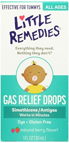 Little Remedies Tummys Gas Relief Drops, Natural Berry Flavor, 1 Ounce - Buy Packs and Save (Pack of 2)