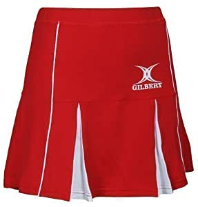 Skort Elite Red/wht L/14