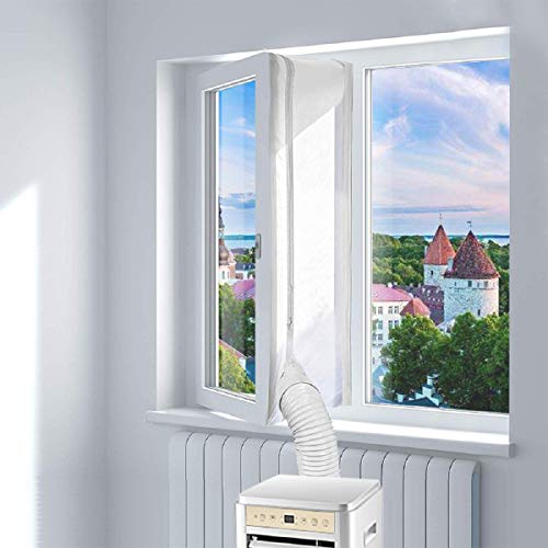 🥇 Blinngo Aislamiento de Ventanas para Dispositivos de Aire Acondicionado móviles Window Seal for Portable Air Conditioner 400cm