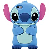 Blue Stitch Case for iPhone 8/ 7 4.7',3D Cartoon Animal Cute Soft Silicone Rubber Protective Character Cover,Kawaii Animated Funny Fashion Cool Skin Cases for Kids Child Teens Girls Guys ( i8 4.7')