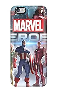 New Snap-on AmandaMichaelFazio Skin Case Cover Compatible With Iphone 6 Plus- Marvel Heroes Game
