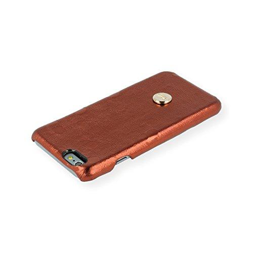 QIOTTI QX-C-0930-05-IP6 Snapcase Q.Snap Moon Premium Echtleder für Apple iPhone 6/6S rot