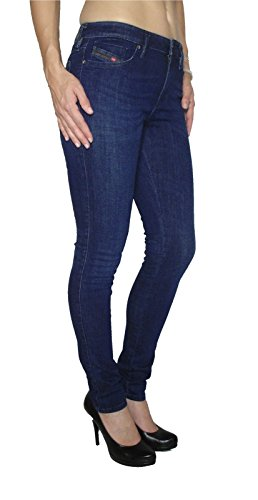 Super 0843i A Sigaretta Pantaloni Diesel Slim Jeans Skinzee AqT0n8Xw