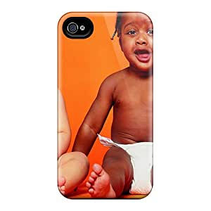 New Shockproof Protection Case Cover For Iphone 4/4s/ Babies Case Cover