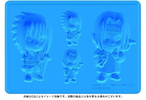 Kotobukiya 'Naruto' Sasuke and Itachi Silicone Ice Tray [parallel import (Naruto Silicone Tray)