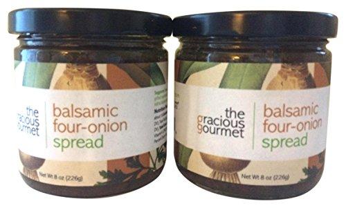 The Gracious Gourmet Balsamic Four Onion Spread, 16 Ounce