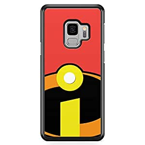 Loud Universe Incredibles Logo Samsung S9 Case Movie Cartoon Children Samsung S9 Cover with Transparent Edges