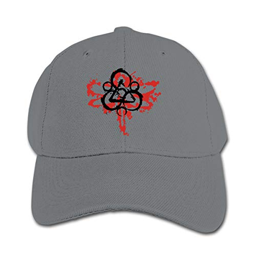 - 3DmaxTees Coheed and Cambria Dragonfly Childhood Adjustable Peaked Hat Hip Hop Flat Bill Baseball Hats Cotton Peaked Cap Gray