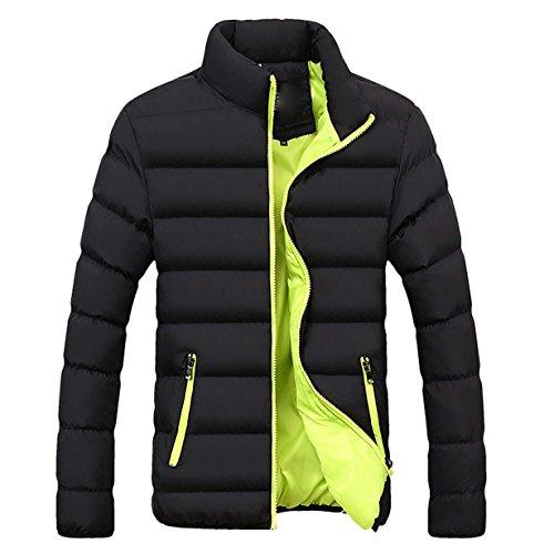 Londony ♥‿♥ Winter Coats Men,Men's Packable Lightweight Zip Up Pockets Down Jacket Puffer Outwear