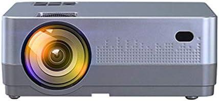 ホームシアター プロジェクター LEDプロジェクターAndroidの無線携帯電話プロジェクタースクリーンホーム720P HDプロジェクター ゲーム機に対応 (Color : Gray, Size : Android9.0+4+32G)