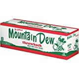 Mountain Dew Throwback Cans, 12x355mL