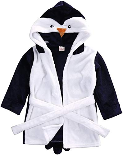 Kids Little Boys Meisjes Coral Fleece Badjas Unisex Kids Robe Cartoon Dier Pyjama Nachtkleding