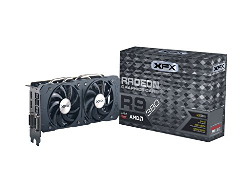 XFX Double Dissipation R9 380 990MHZ XXX OC 4GB DDR5 DisplayPort HDMI DUAL DVI