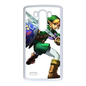 LG G3 Cell Phone Case White Super Smash Bros Link LV7011713