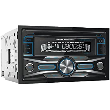 POWER ACOUSTIK PCD-42 In-Dash Double DIN CD/MP3 AM/FM Receiver with 32GB USB Input
