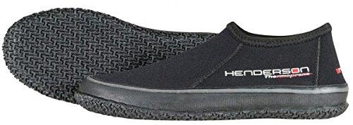 Henderson Thermoprene Low 3mm Tropic Boots 13 Black (Henderson Neoprene Boot)