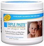 Triple Paste Medicated Ointment for Diaper Rash 16oz (Case of 6)