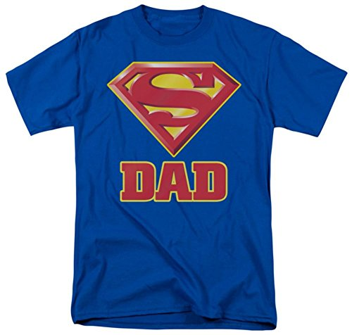 Superman - Dad's Super T-Shirt Size XL