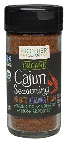 Frontier Cajun Seasoning Certified Organic  2 08 Ounce Bottle