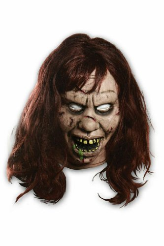 Morbid Enterprises The Exorcist Regan Mask, Tan, One Size - Regan Exorcist Mask