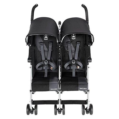 Maclaren Twin Triumph, Black/Charcoal