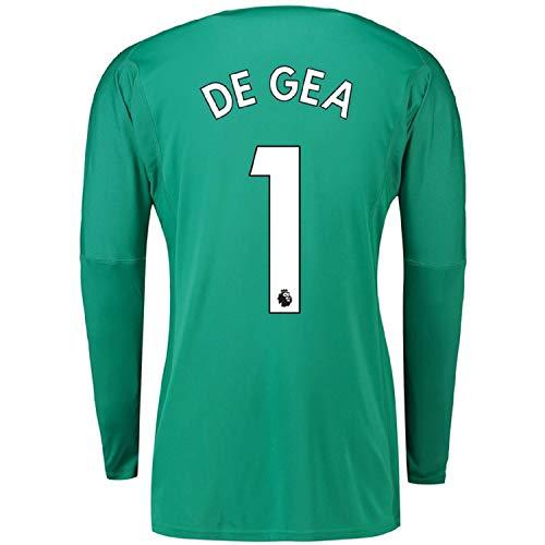 De GEA #1 Manchester United 2018/2019 Goalkeeper Jersey Green (S-XL) (L) ()