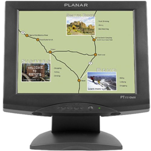 "Planar 15"" Black Touchscreen Lcd Monitor With Integrated Speaker (997-3198-00) -"