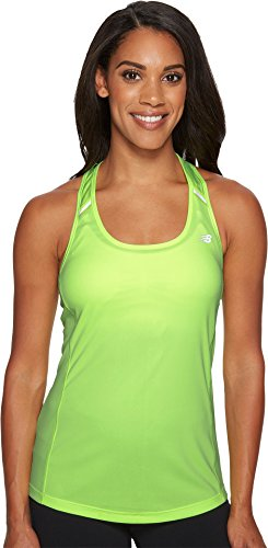Glo Ice (New Balance Women's NB Ice Tank Top Bleached Lime Glo Tank Top)