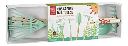 Beetle & Bee Kids Garden Tall Tool Set by Toysmith