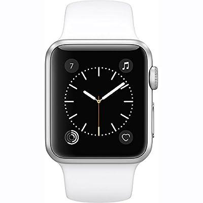 Apple Watch Series 1 38mm Smartwatch (Silver Aluminum Case/White Sport Band)