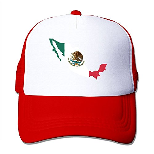 HAT-HAT The History of The Mexican Flag Men's Women's Adjustable Snapback Hats Trucker Cap | Baseball Caps Mesh Back for $<!--$10.06-->