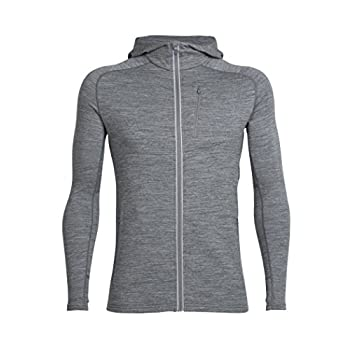 Image of Active Hoodies Icebreaker Merino Men's Quantum Long Sleeve Zip Hoodie