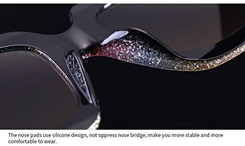 YLNJYJ Lady Rainbow Shiny Square Sunglasses Oversized Men Women Brand Glasses Designer Fashion Male Female Shades