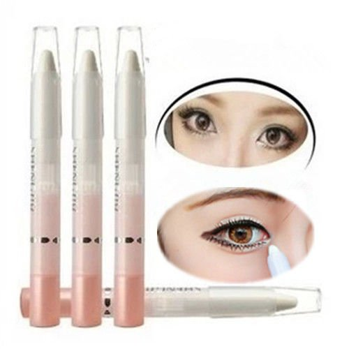 Eye Shadow Multipurpose Pearl Eyeliner Pencil Pen Make Up Beauty Cosmetic White