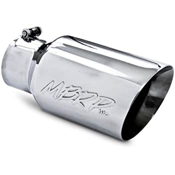 4 In x 6 Out x 18 Long Bolt-On Exhaust Tip EVT406B Pypes Exhaust