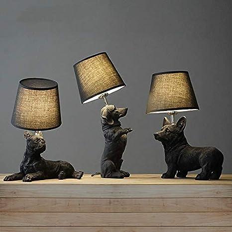 Lámpara Escritorio 1pcs Lámpara De Mesa Negra Para ...
