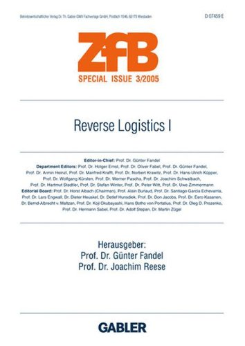 Read Online Reverse Logistics I (ZfB Special Issue) (German Edition) pdf