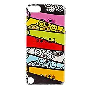 Colorful Dots Pattern Hard Case for iTouch 5