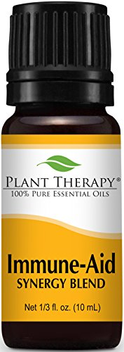 Plant Therapy Immune-Aid Synergy Essential Oil Blend. 100% P