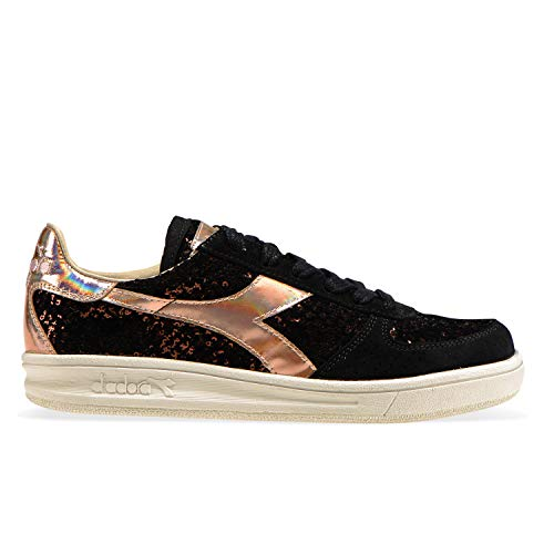 elite Pour rose Diadora W Sneakers Noir C2971 B Heritage Femme 7qw4wUtB