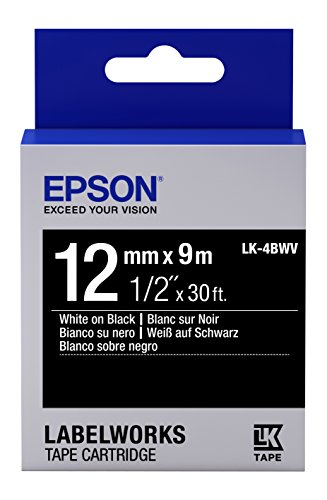 (Epson LabelWorks Standard LK (Replaces LC) Tape Cartridge ~1/2