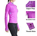 Women Running Shirts Long Sleeve Yoga Jacket