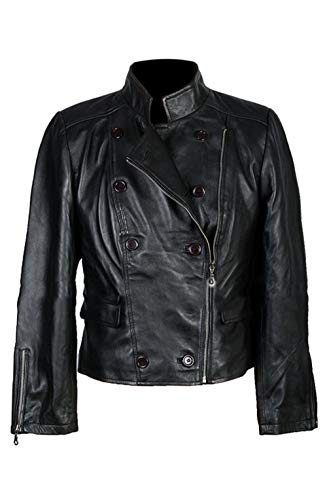 UGFashions Womens Twilight Saga Breaking Dawn 2 Bella Swan Black Biker Cowhide Leather Jacket