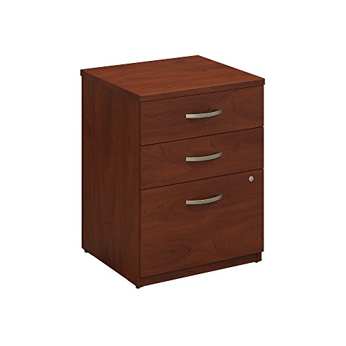 Bush Business Furniture Series C Elite 24W 3 Drawer Pedestal in Hansen Cherry
