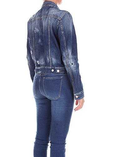 Jeans Giacca Scuro Dsquared2 Donna S72am0611s30309 Evxn4qOn