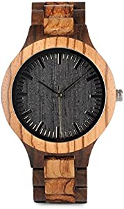 Sweepstakes: Wood Watches for Men Sandalwood Handmade…
